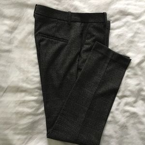 Zara Checkered cigarette pants